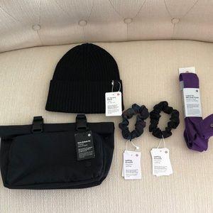 LULULEMON accessories bundle 5 pieces